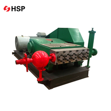 High Efficiency Small Triplex Mud Reciprocating Piston Pump