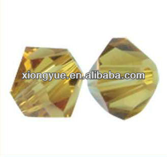 Bicone crystal glass beads for beadwork and jewelry 3mm