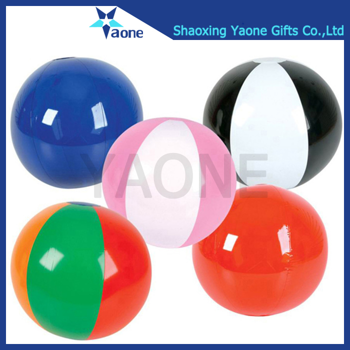 Colorful standard size PVC inflatable beach volley ball