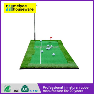 On Sale wholesale eco-friendly Grass Rubber Hitting golf driving mat