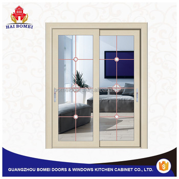 High quality cheap price aluminum alloy sliding glass for Aluminum sliding glass doors price