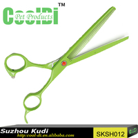 Pet grooming sharpen teeth scissor