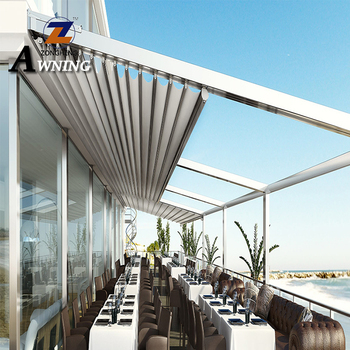 New hot selling products garden pergola awning outdoor with metal roof great price