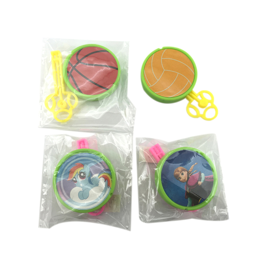 Mini plastic frisbee toy shooting toys flying saucer for kids