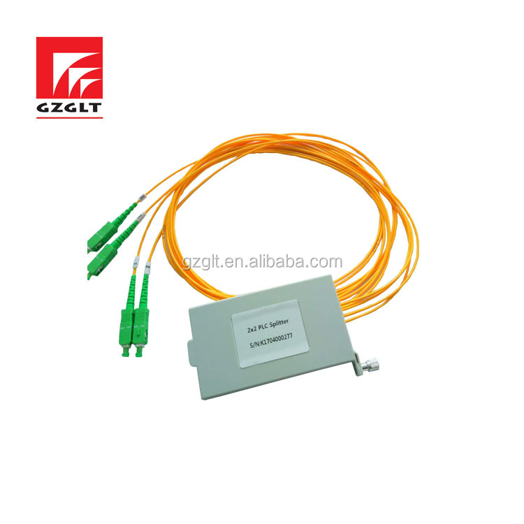 High quality for 2x8 plc splitter widely use in FTTX system and PON network fiber optic splitter
