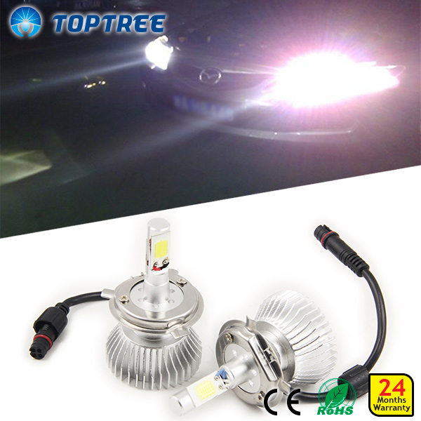 15w 2015 New Design Car LED H4 Headlight Mini Local Tyrant Headlight 12V /36V