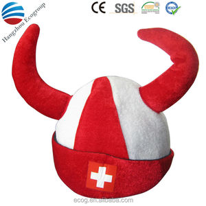 2016 crazy football fans plush animal hat