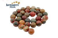 6mm 12mm 8mm 10mm Semi-finished beads gemstone beads Natural Tiger Eye stone