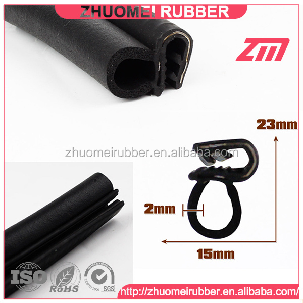 hatchback door sealing rubber bulb product