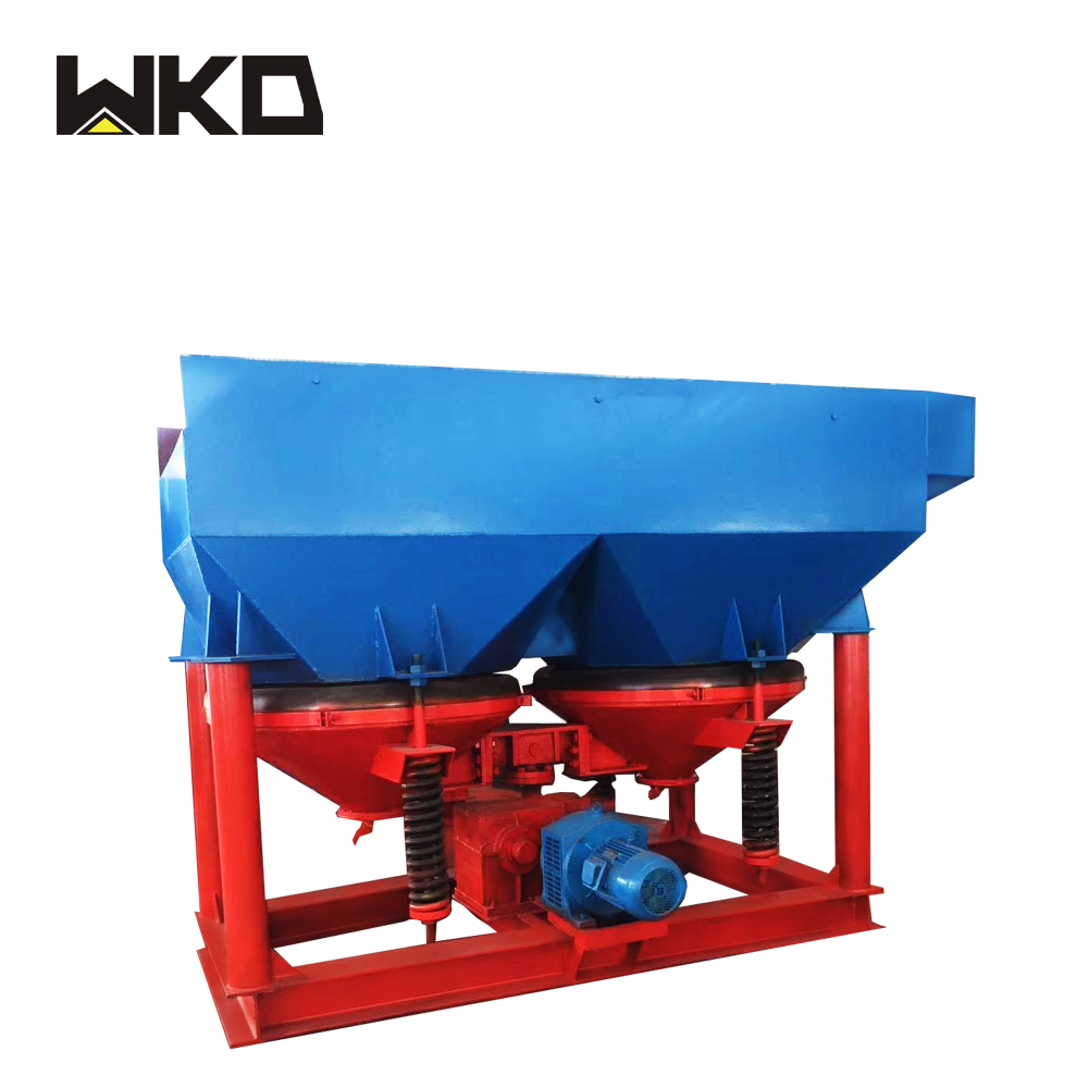 Durable ore separation gold sawtooth wave jig machine for sale