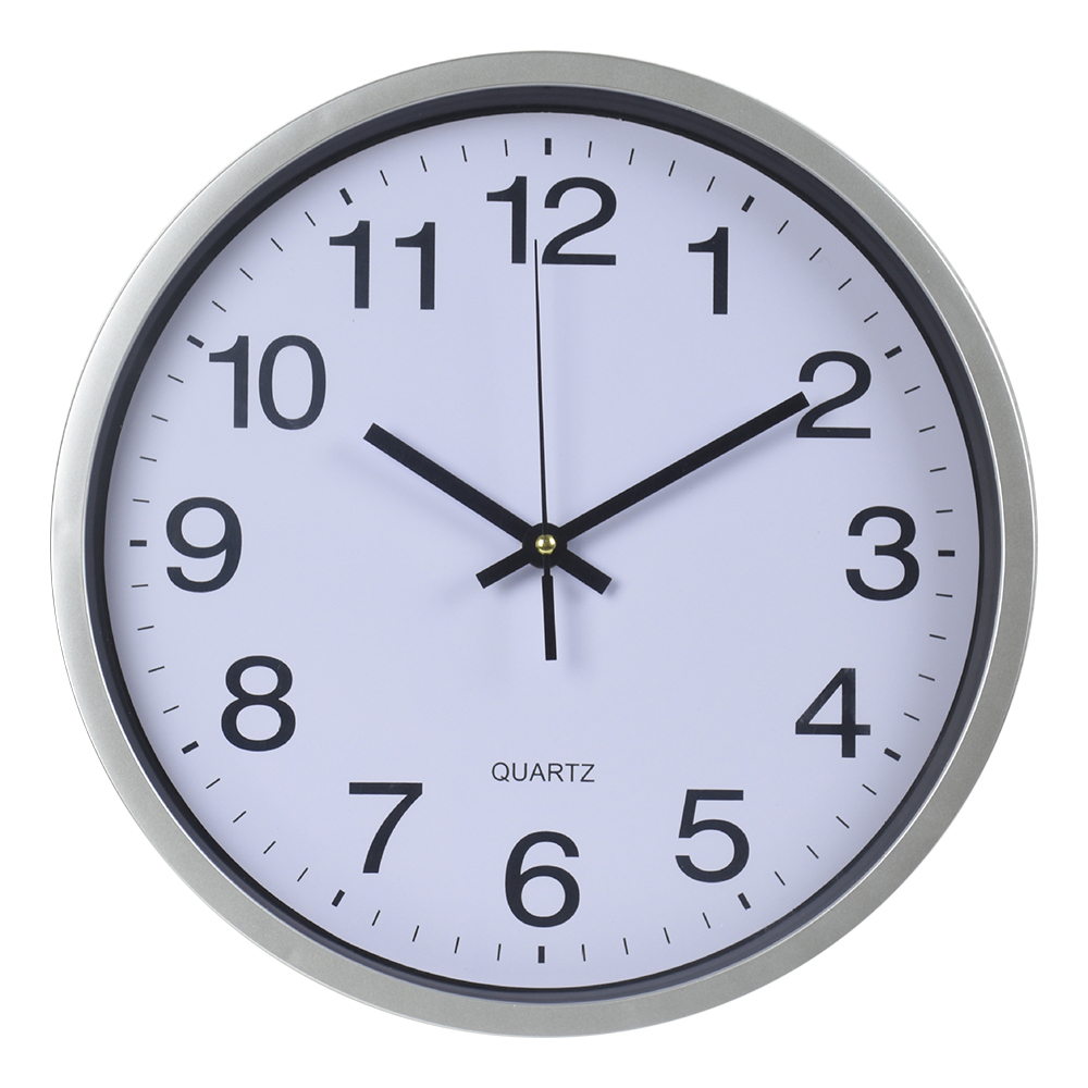 Plastic clok factory 12'' Wall Clock For Promotional Gift