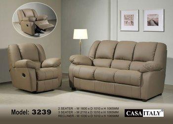 Casa Italy Leather Sofa F 3239