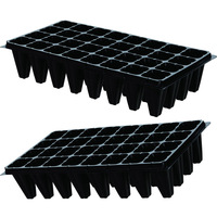 PS Material 32 50 72 105 128 200 Cell Seed Germination Tray Hydroponic Plant Grow Tray