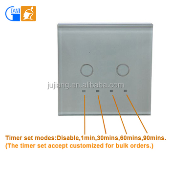 Intelligent Touch Screen Sensor Light Switch With High Quality Ic ...