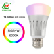 APP control smart life bulb wifi led lighting bulb compatible with alexa and google