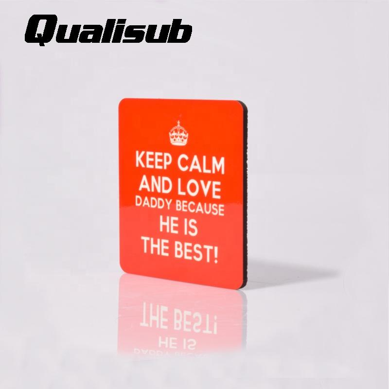 Qualisub 4mm MDF Square Shape Sublimation Cork Coaster