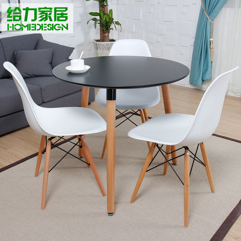 Small Round Dining Table Set: Dessert Small Round Dining Table And Chairs Child Fashion