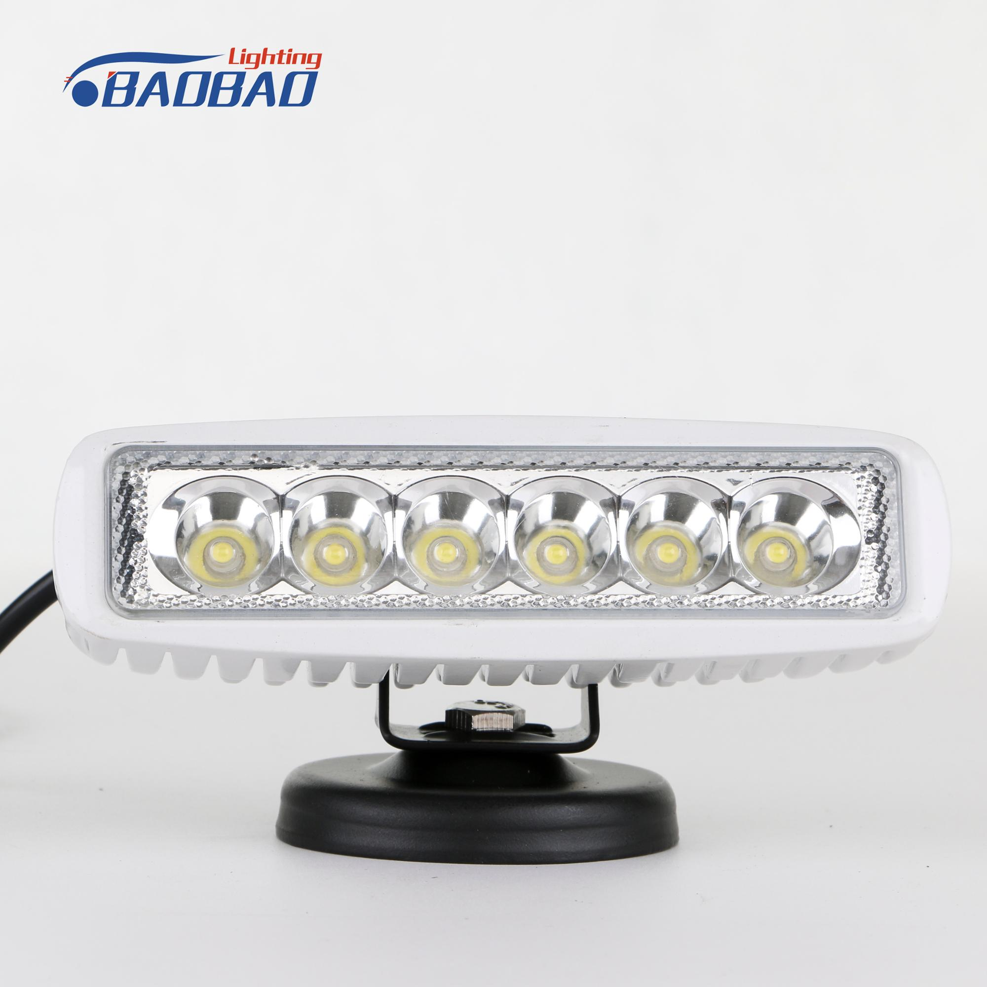 Tractor ATV Car Truck Driving 1580 Lumen Strobe 18w LED Work Light Bar LED Work Light