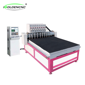 glass cutting and engraving machine used watch glass cutting machine