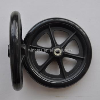 8 pulgadas peque o estrecho de rueda de pl stico para silla de ruedas cochecito buy ruedas de - Tamano silla de ruedas ...
