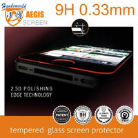 New arrival! tempered glass screen protector with silicon coating for iphone 5