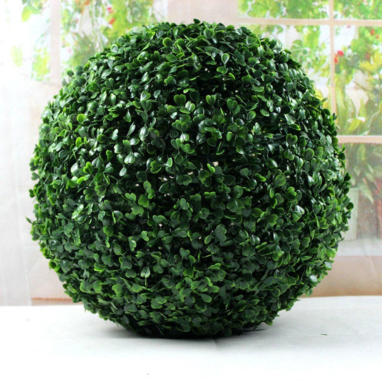 2 x 27cm Topiary Ball Green Garden Decoration Hanging Balls Best Artificial