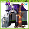 inflatable halloween/halloween inflatable/inflatable halloween bounce house