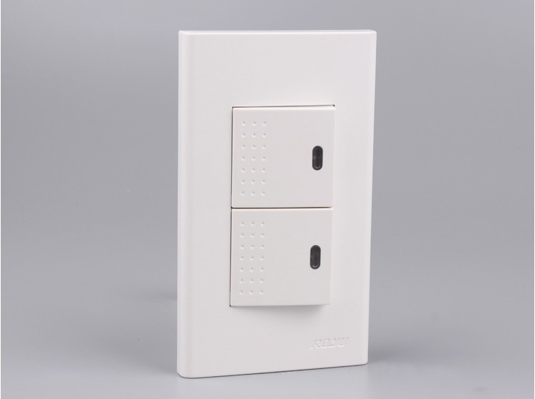 2 gang 1 way switch home used, zwave switch, 250V 15A types of ...