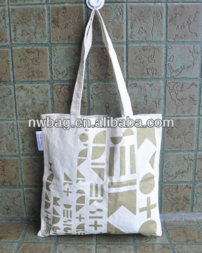 Promocionales baratos algodon canvas shopper tote bag, bolsas de moda, playa tote bag