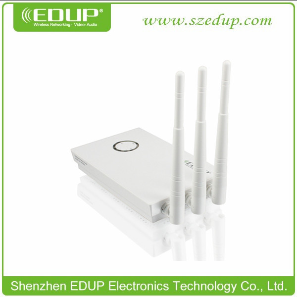 EDUP 802.11b/g/n 300Mbps WiFi Wirless Router with 3 External Antenna