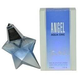 New Item THIERRY MUGLER ANGEL AQUA CHIC EDT SPRAY 1.7 OZ ANGEL AQUA CHIC/THIERRY MUGLER EDT SPRAY LIMITED EDITION 1.7 OZ (50 ML) (W)