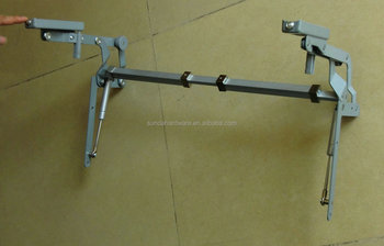 Pneumatic Vertical Lift Up Mechanism / Hydraulic Cabinet Lifting Hinge /  Vertical Swing Up Cabinet