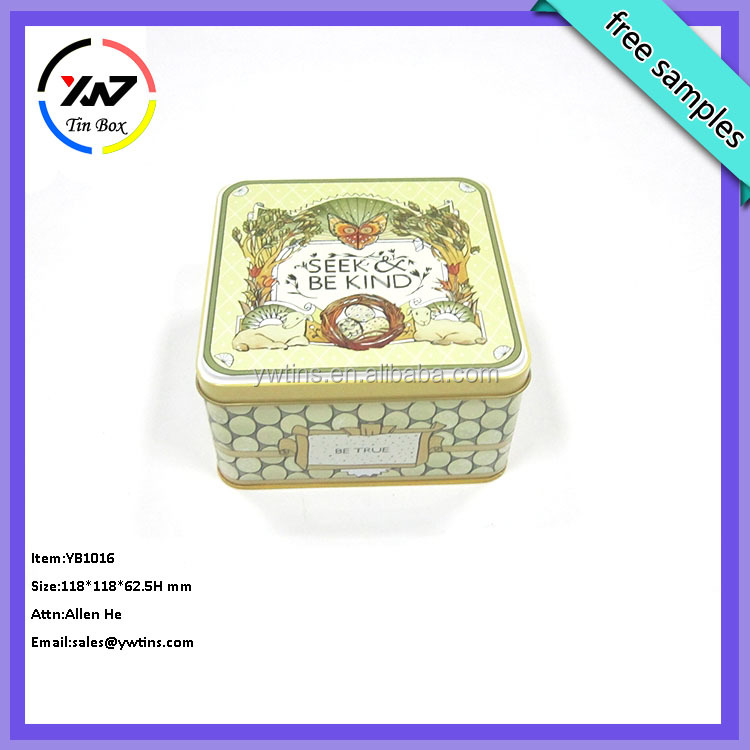 Empty Chocolate Homemade Chocolates Gift Boxes Metal Packaging Box