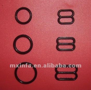 Black Small Plastic Ring And Slider - Buy Plastic Adjusters,Bra ...