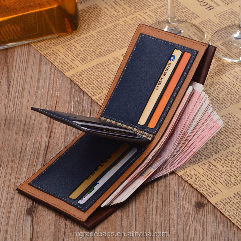 free shipping new style of leather wallet men, wallet for men wholesale