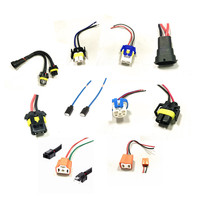 Universal automotive electrical hid light car lighting wire harness