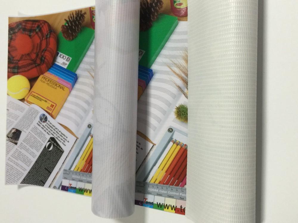 Large Format Frontlit Pvc Flex Banner For Solvent Printing
