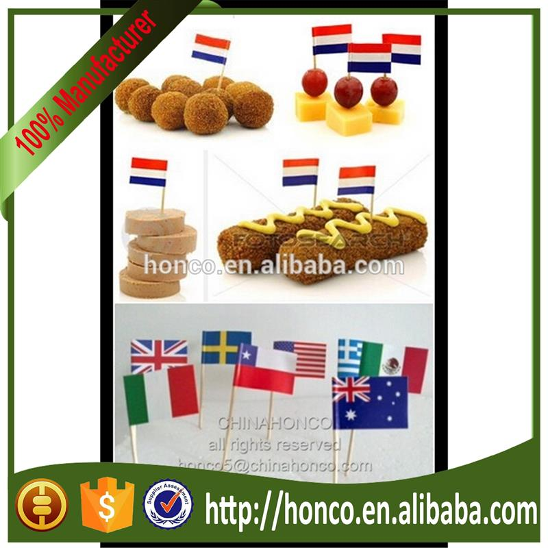 Holland toothpick flag/flag picks for UEFA EURO 2016
