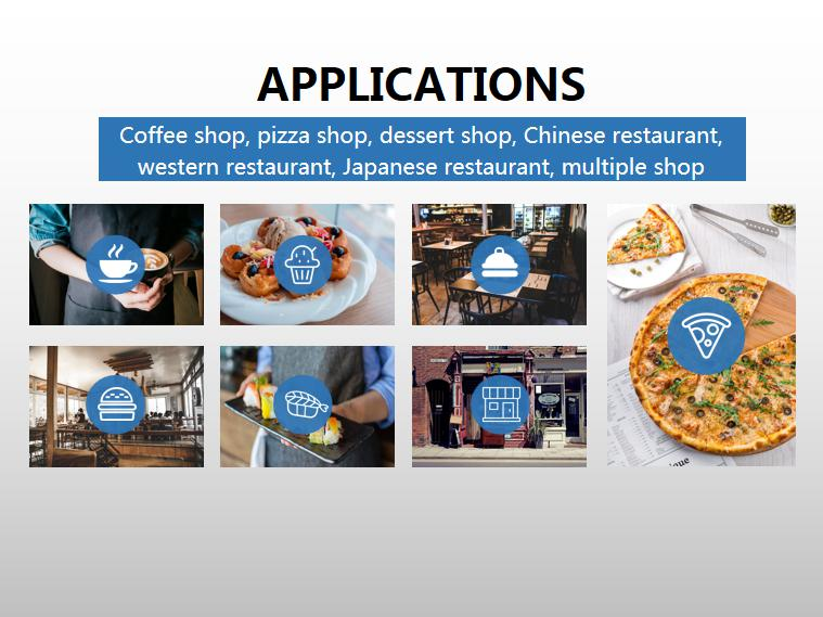 android ordering POS system using for coffee shop and restaurant,4G Android POS terminal,handheld cash register