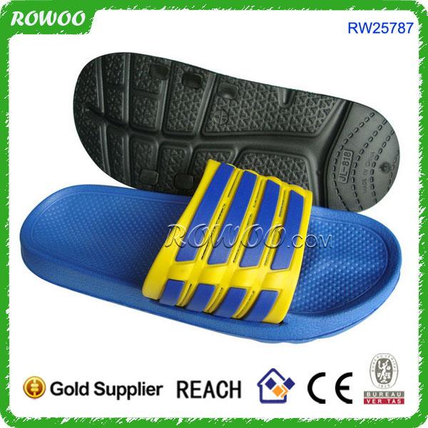 ef420043f07cd6 Pvc Sandal Slipper Silver Pu Shower Beach Shoe Slip On Slipper - Buy ...