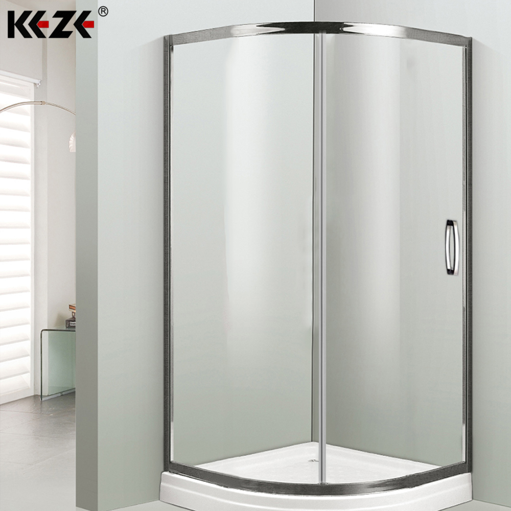 80x80 square acrylic aluminium bath cubicle shower cabin