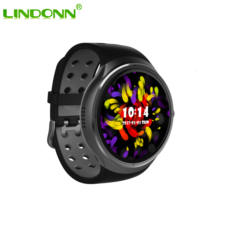 CE RoHS Android Wifi GPS 3G Smart Watch MTK6580 Quad Core 16GB Smartwatch Online Shopping India For 4G Mobile Phone