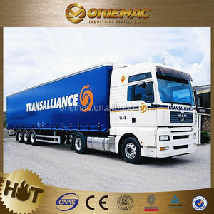 Low Price High Quality European Type new energy series CNG semi trailer truck , truck trailer used for sale germany