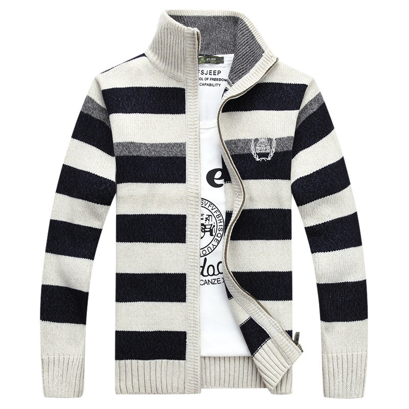 05d633d154b Get Quotations · 9 Colors New Brand 2015 Winter Sweaters and Cardigans For  Men Knitwear Clothing Stylish Men Striped
