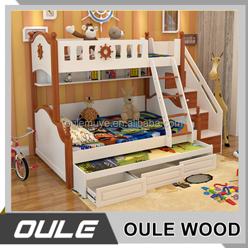 lazy boy kids furniture functional triple solid wood bunk beds buy