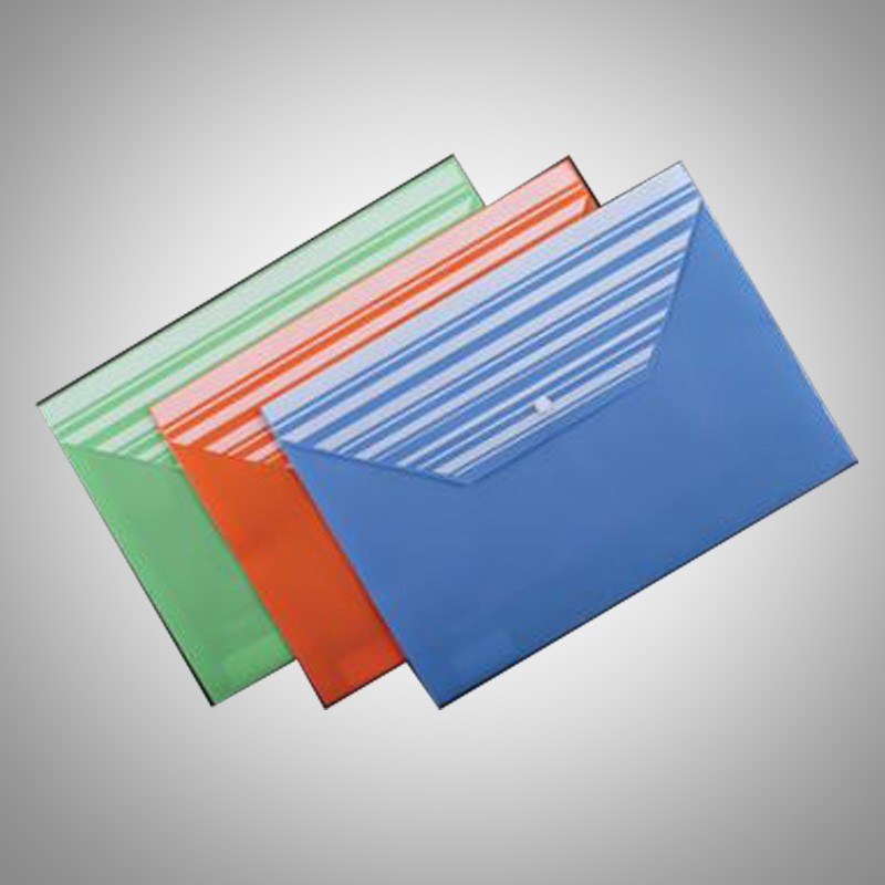 Custom Eva Pvc Vinyl Clear Plastic Envelopes File Folder