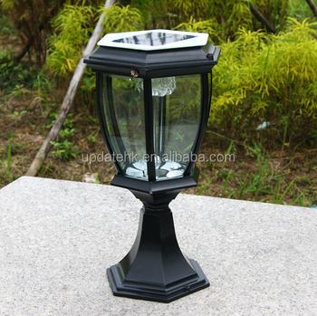 Outdoor Solar Light Pijler Verlichting
