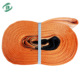 Ce And Gs Standard Approved 5 Ton Polyester Flat Webbing Sling roller Sling soft Sling