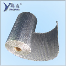 Reflective and fireproof thermal resistant aluminum foil single bubble wrap roll insulation