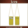 ID Card Holder Detachable Long Neck Strap Leather Phone Case for iPhone 6/6s